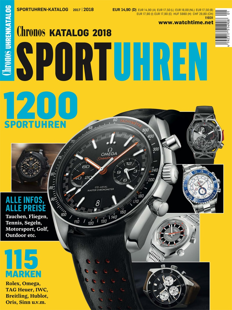 Produkt: Chronos Sportuhren Katalog 2017/18 (digital)
