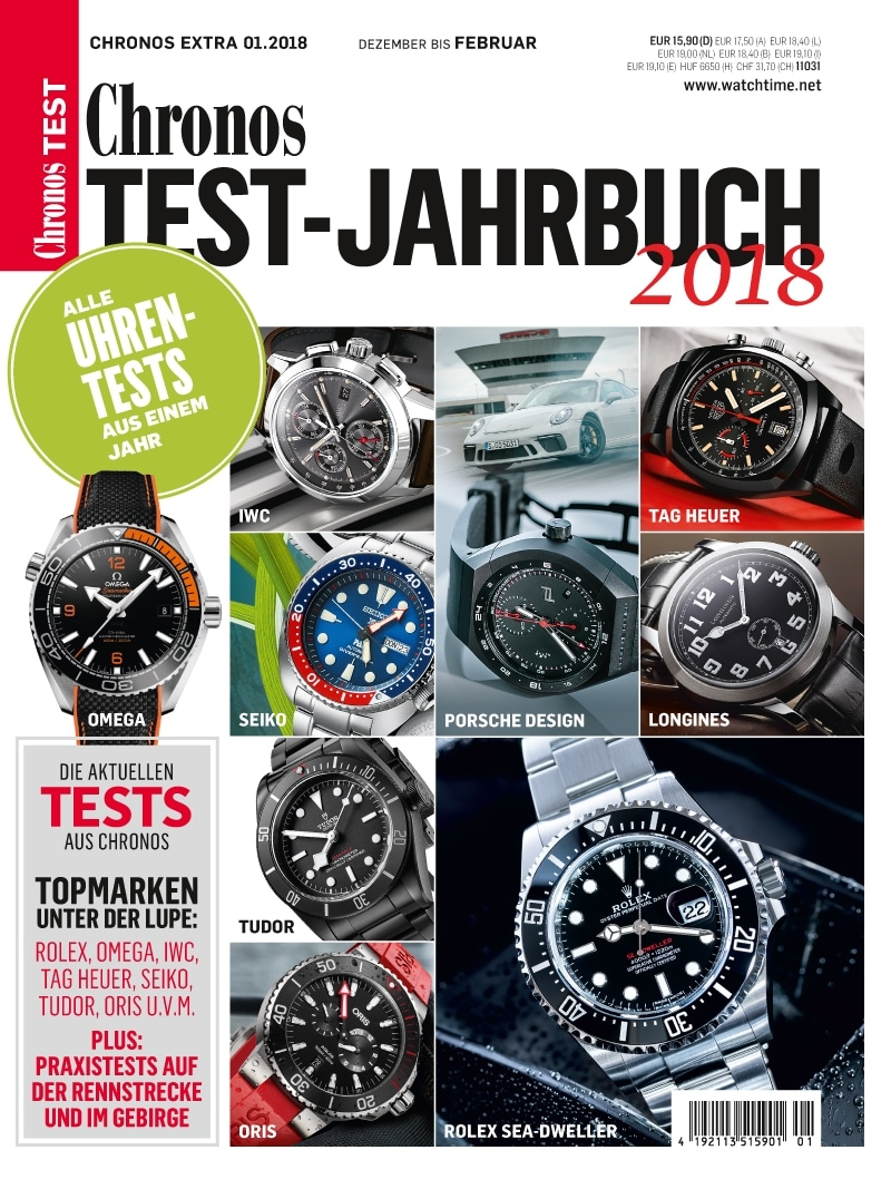 Produkt: Chronos Testjahrbuch 2018 Digital