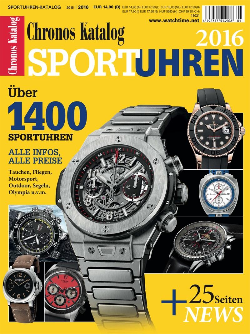 Produkt: Chronos Sportuhren Katalog 2015/16 (digital)