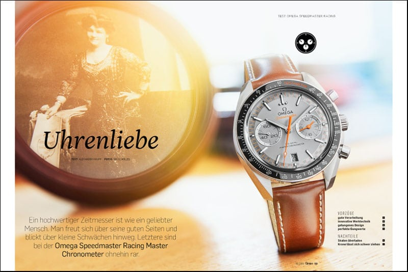 Produkt: Download: Omega Speedmaster Racing im Test