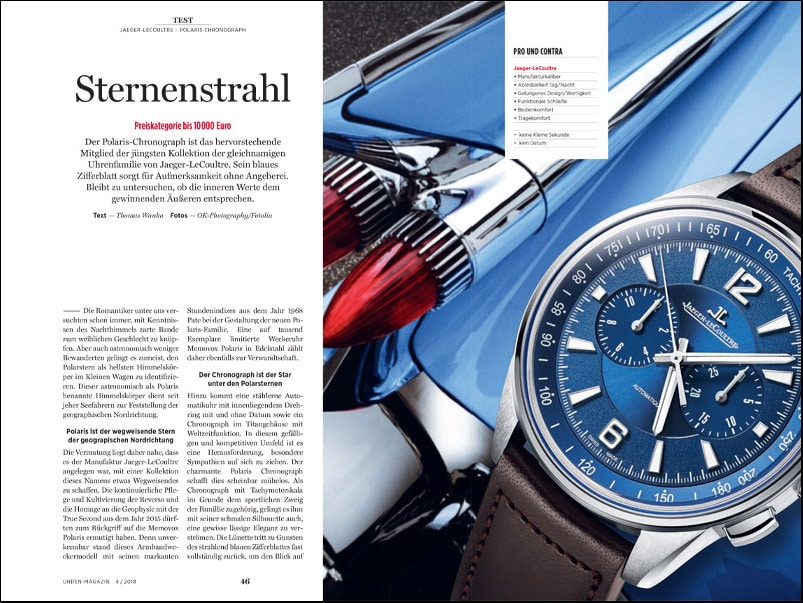Produkt: Download: Jaeger-LeCoultre Polaris Chronograph im Test