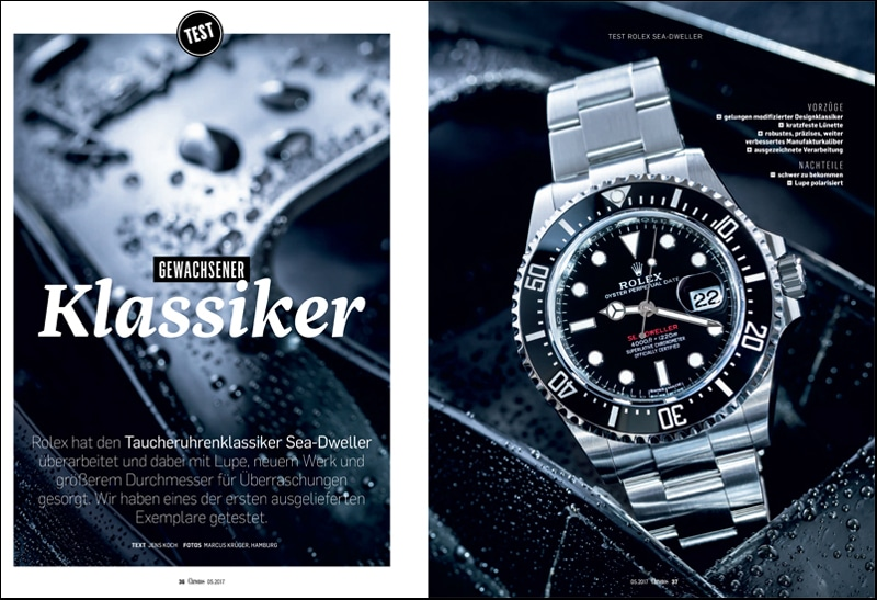 Produkt: Download: Rolex Oyster Perpetual Sea-Dweller im Test