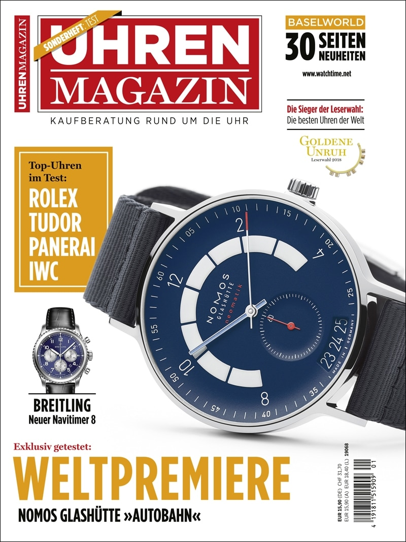 Produkt: UHREN-MAGAZIN Sonderheft Test 2018 (digital)
