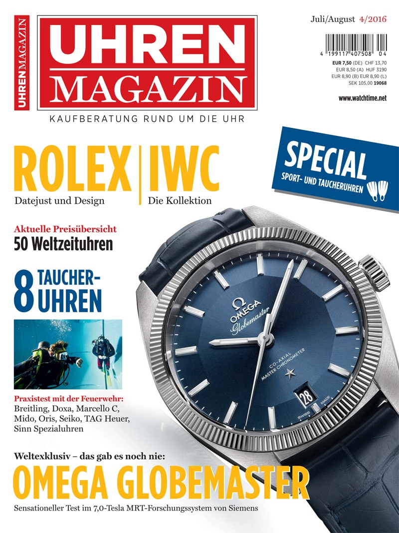 Produkt: UHREN-MAGAZIN Digital 4/2016