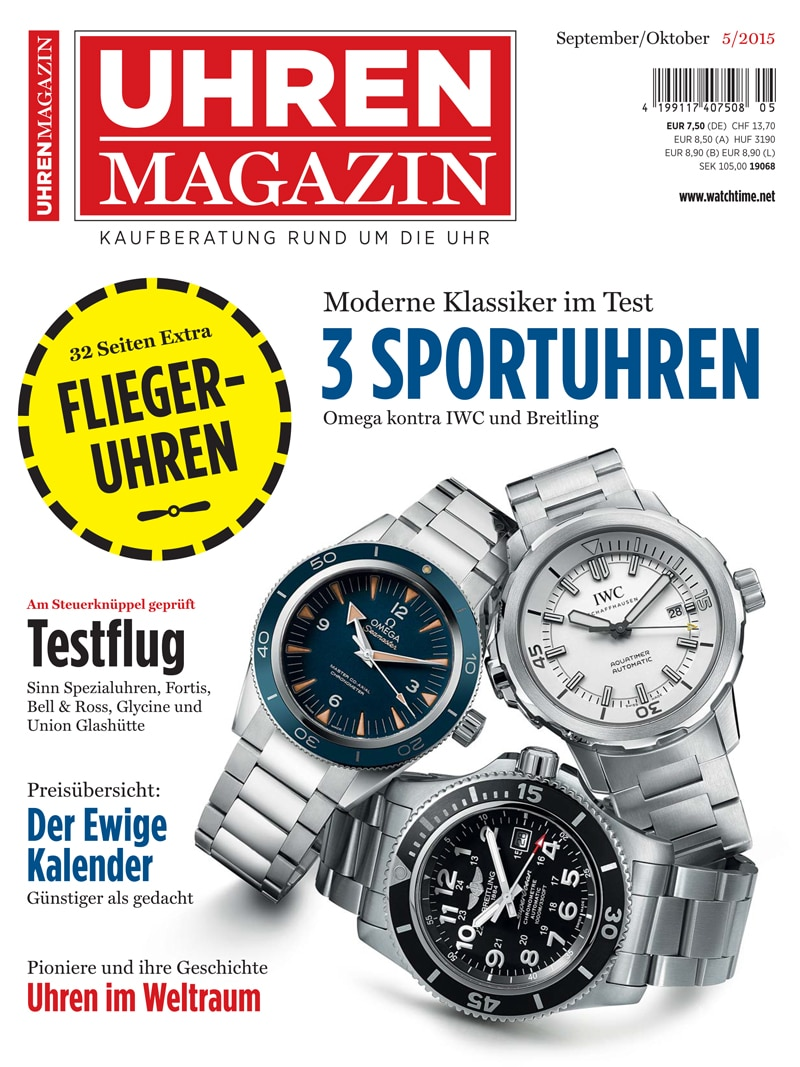 Produkt: UHREN-MAGAZIN Digital 5/2015