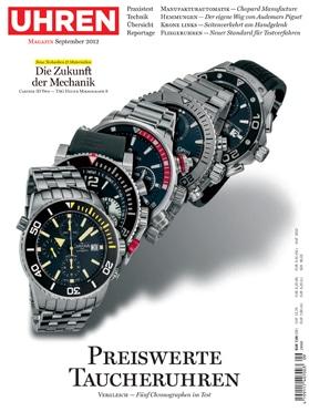 Produkt: Uhren-Magazin Digital 9/2012