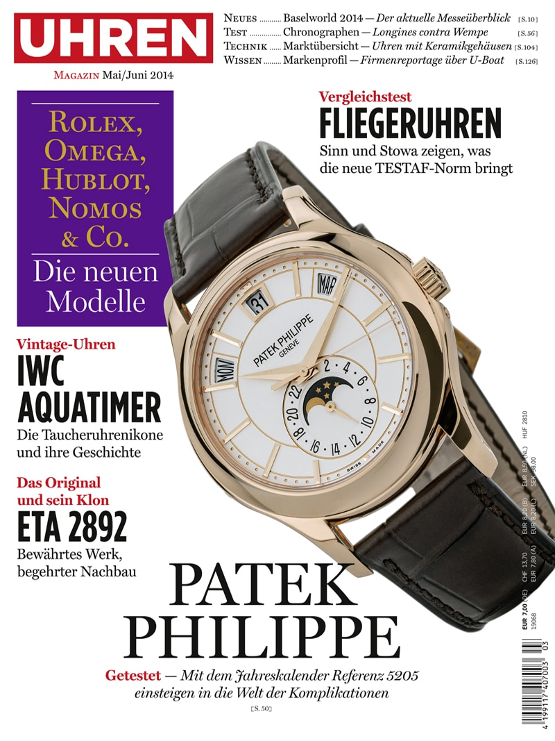 Produkt: Uhren-Magazin Digital 3/2014