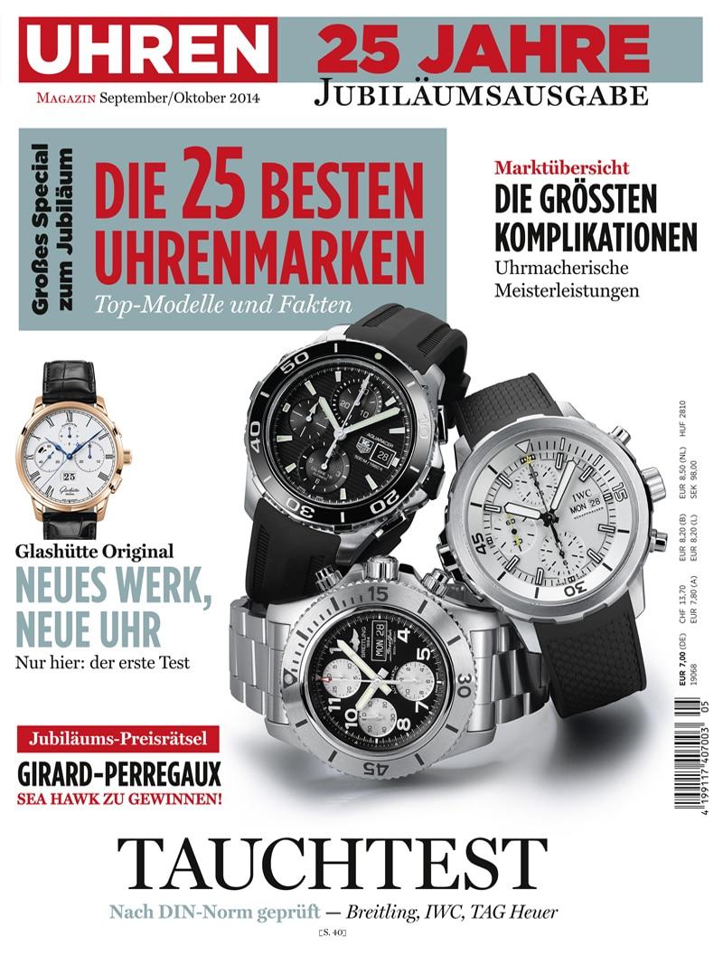 Produkt: UHREN-MAGAZIN 5/2014 Digital