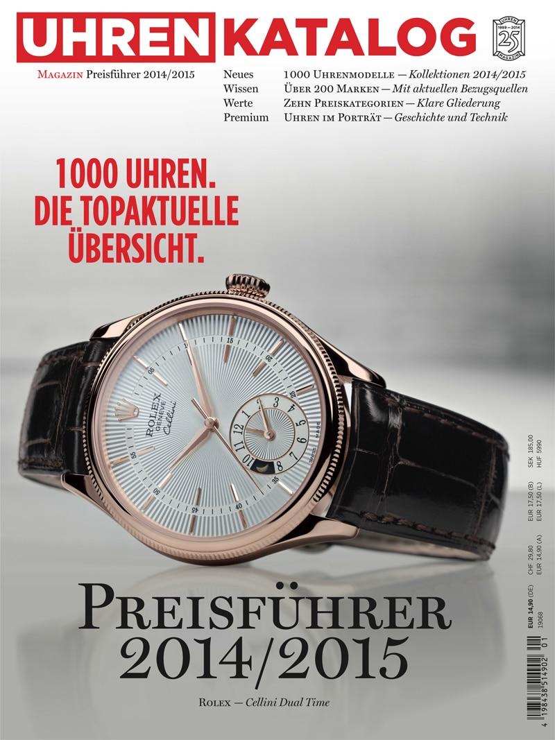 Produkt: UHREN-MAGAZIN Preisführer 2014/2015