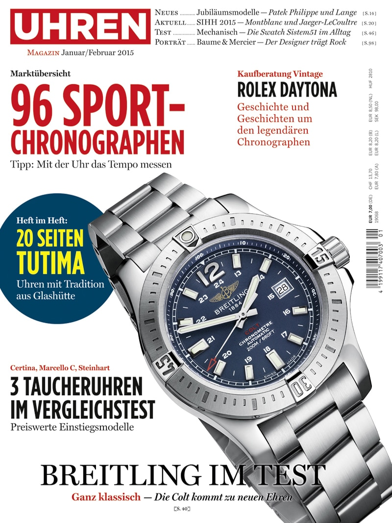 Produkt: Uhren-Magazin Digital 1/2015