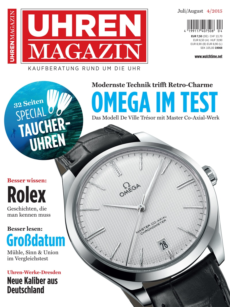 Produkt: UHREN-MAGAZIN Digital 4/2015