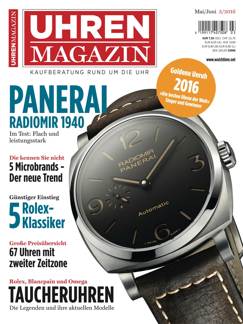 Produkt: UHREN-MAGAZIN Digital 3/2016