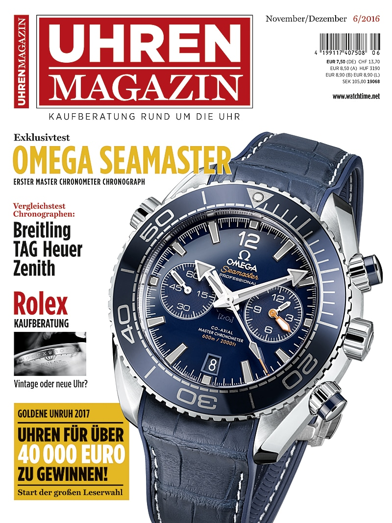 Produkt: UHREN-MAGAZIN Digital 6/2016