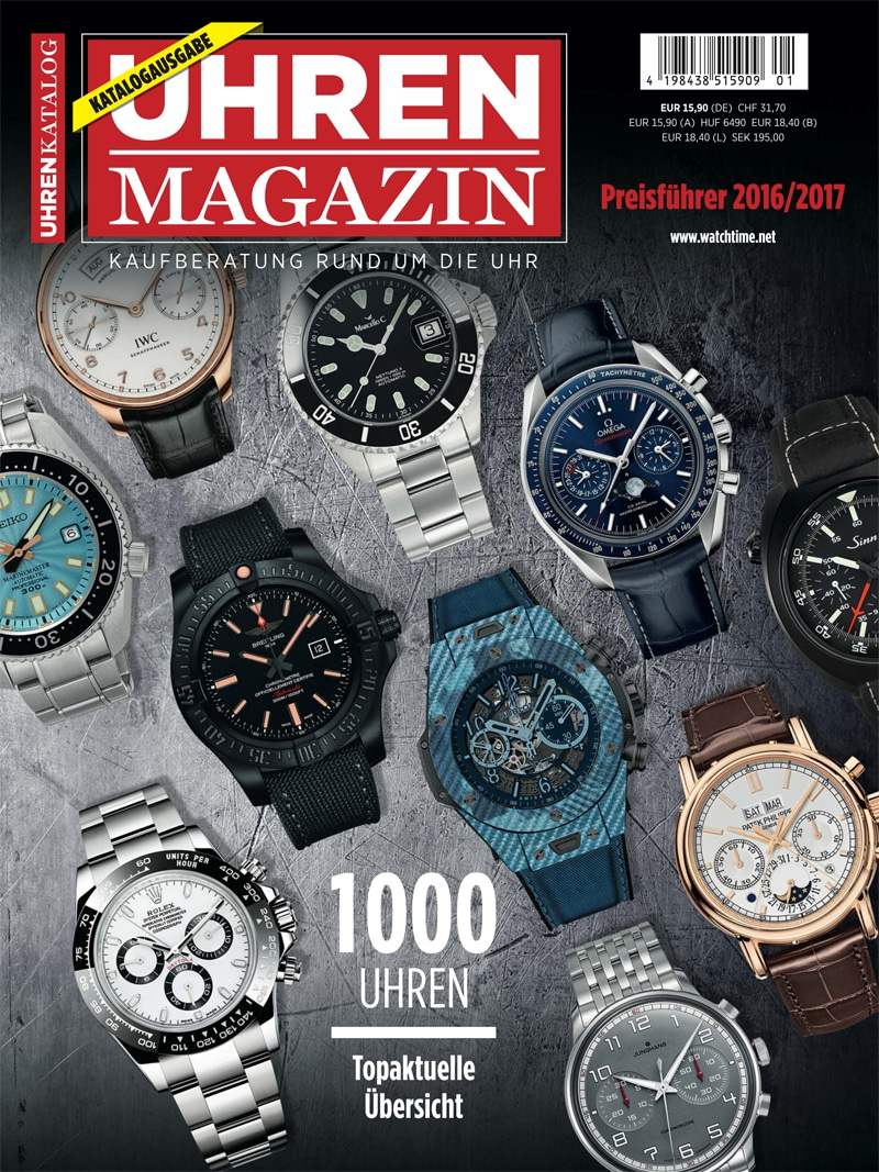 Produkt: UHREN-MAGAZIN Preisführer 2016/2017 (digital)