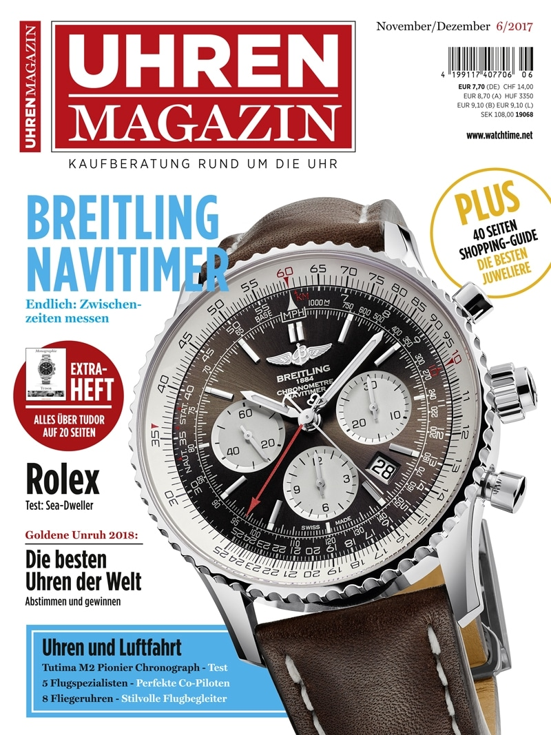 Produkt: UHREN-MAGAZIN Digital 6/2017