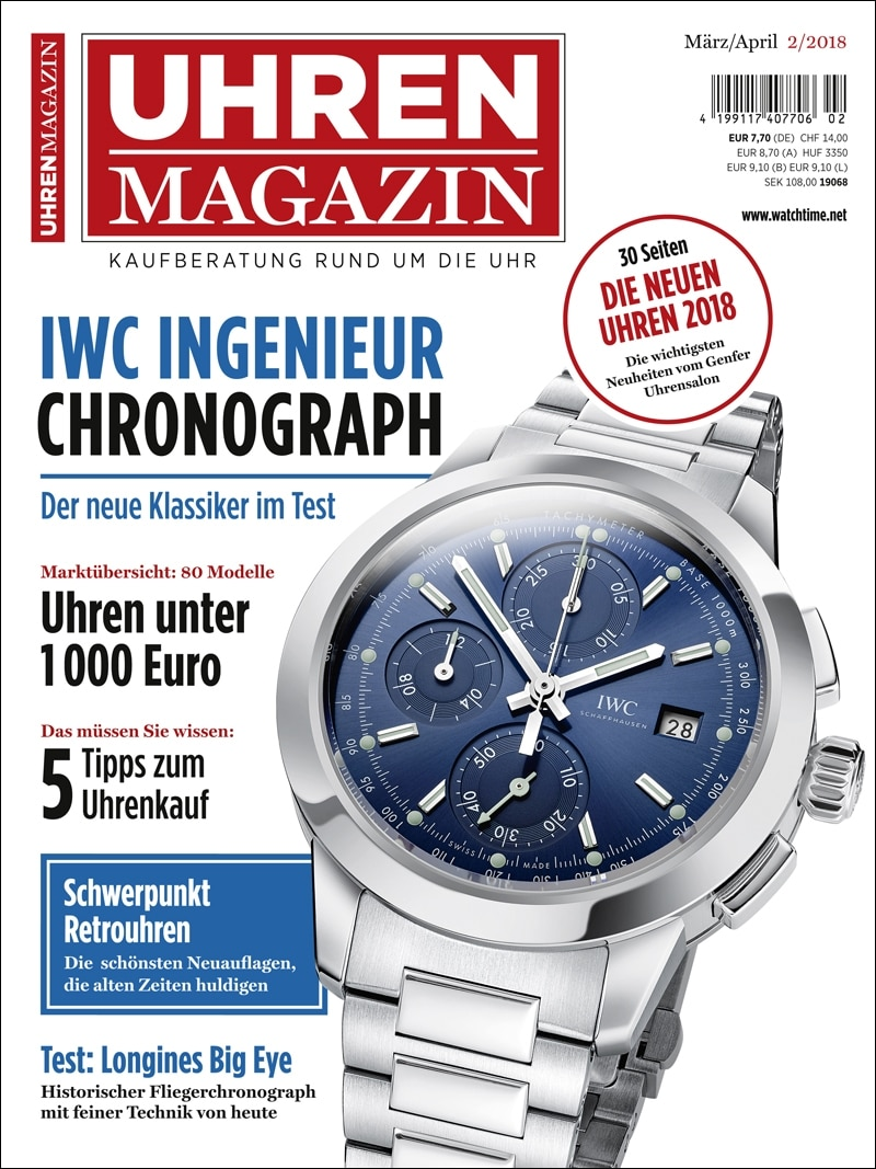 Produkt: UHREN-MAGAZIN Digital 2/2018