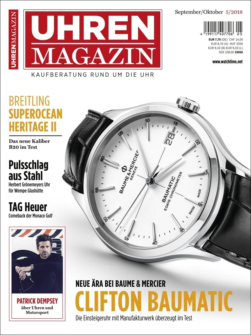 Produkt: UHREN-MAGAZIN 5/2018 Digital
