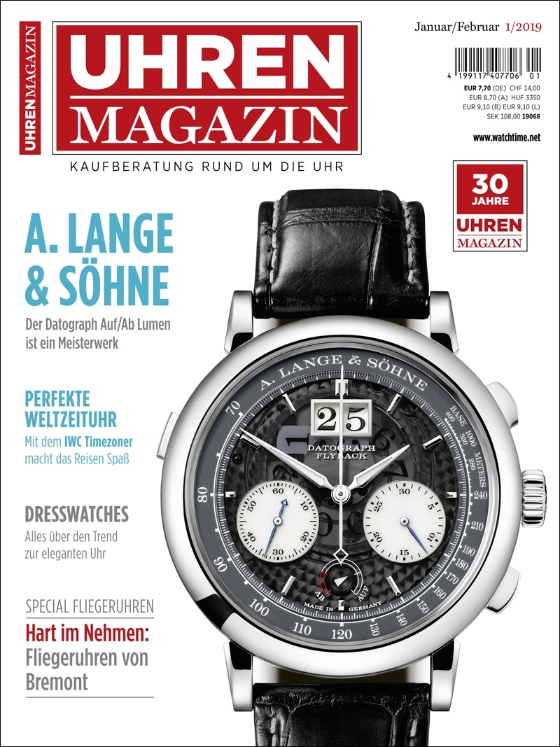 Produkt: UHREN-MAGAZIN 1/2019 Digital