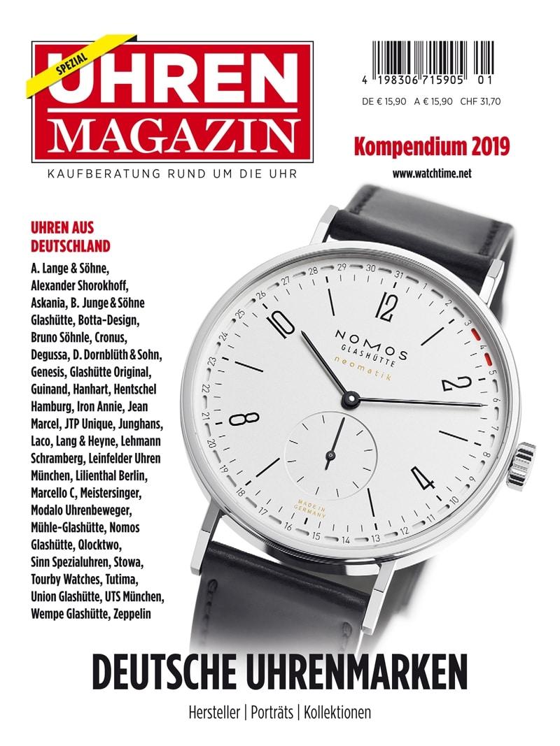 Produkt: UHREN-MAGAZIN Kompendium 2019 (digital)
