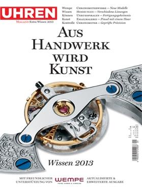 Produkt: UHREN-MAGAZIN Sonderheft Wissen 2013 Digital