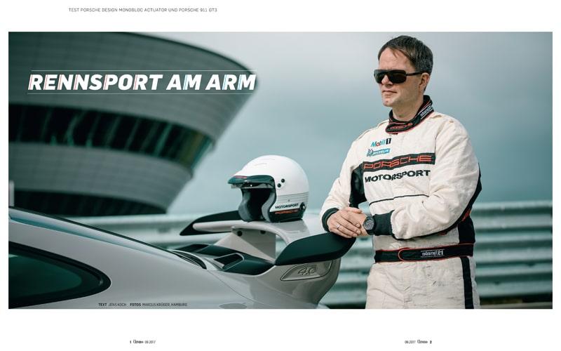 Produkt: Download: Porsche Design Monobloc Actuator und Porsche 911 GT3 im Test
