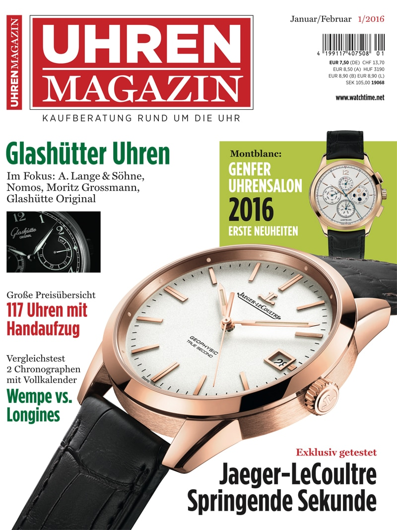 Produkt: UHREN-MAGAZIN Digital 1/2016