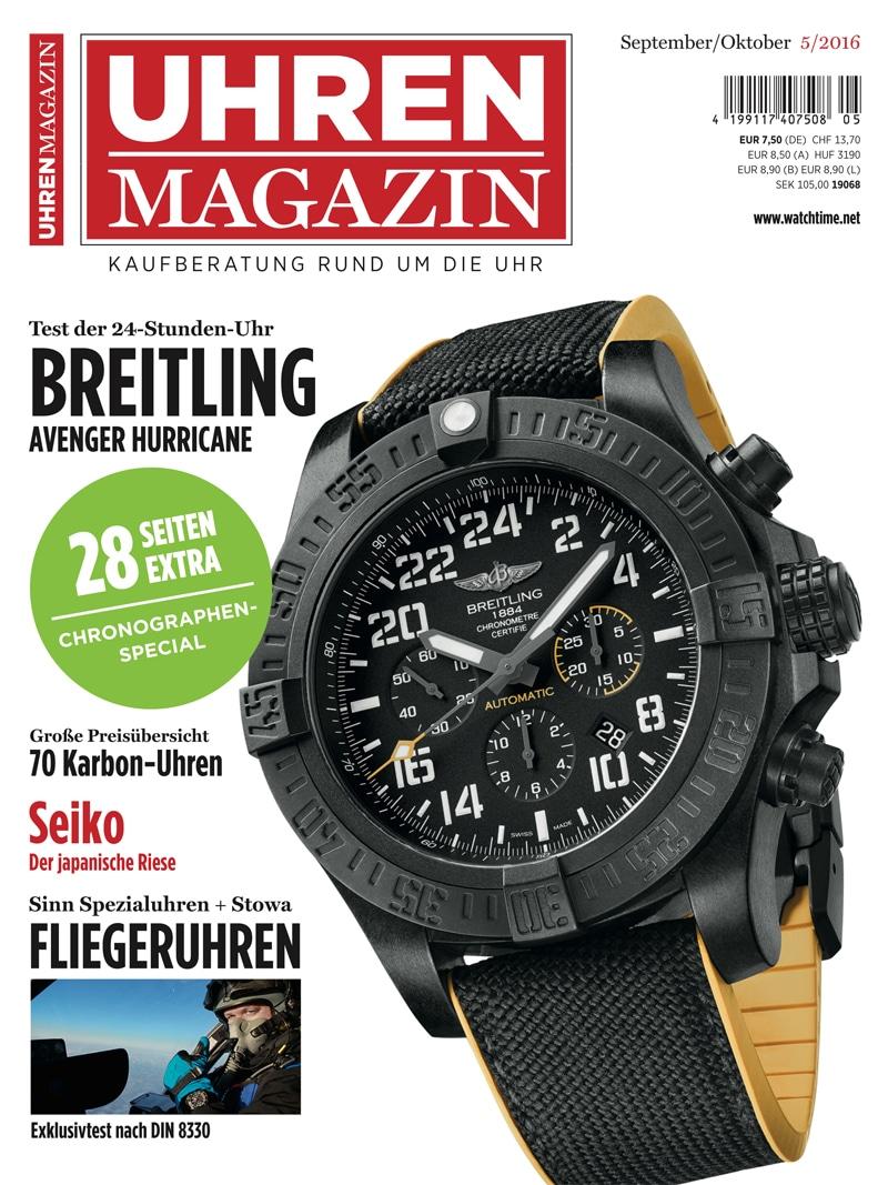 Produkt: UHREN-MAGAZIN 5/2016 Digital