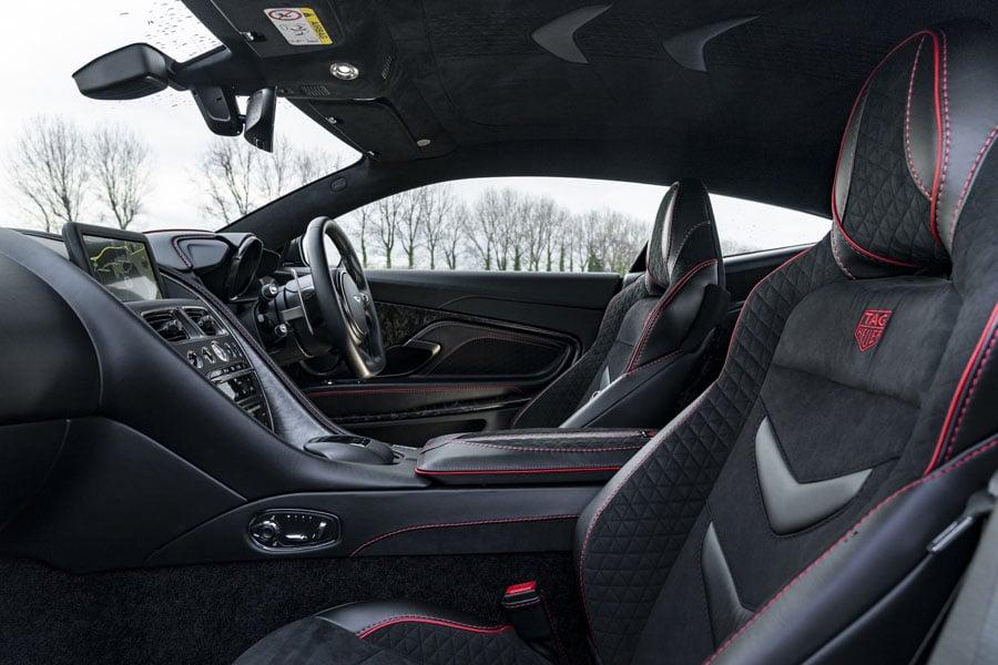 Aston Martin DBS Superleggera TAG Heuer Edition Innenraum