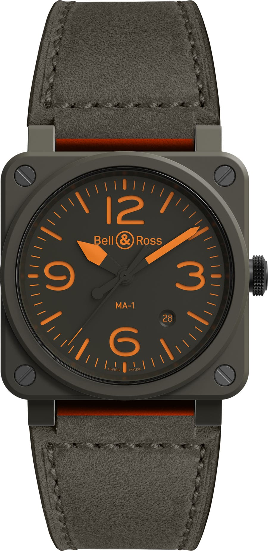 Bell & Ross: BR03-92 MA-1