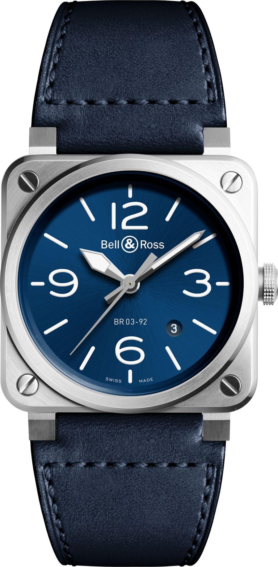 Bell & Ross: BR03-92 Steel Blue
