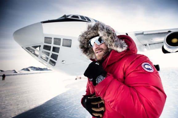 Der Polarforscher Ben Saunders nahm auf seine jüngste Antarktis-Expedition die Bremont Endurance mit.