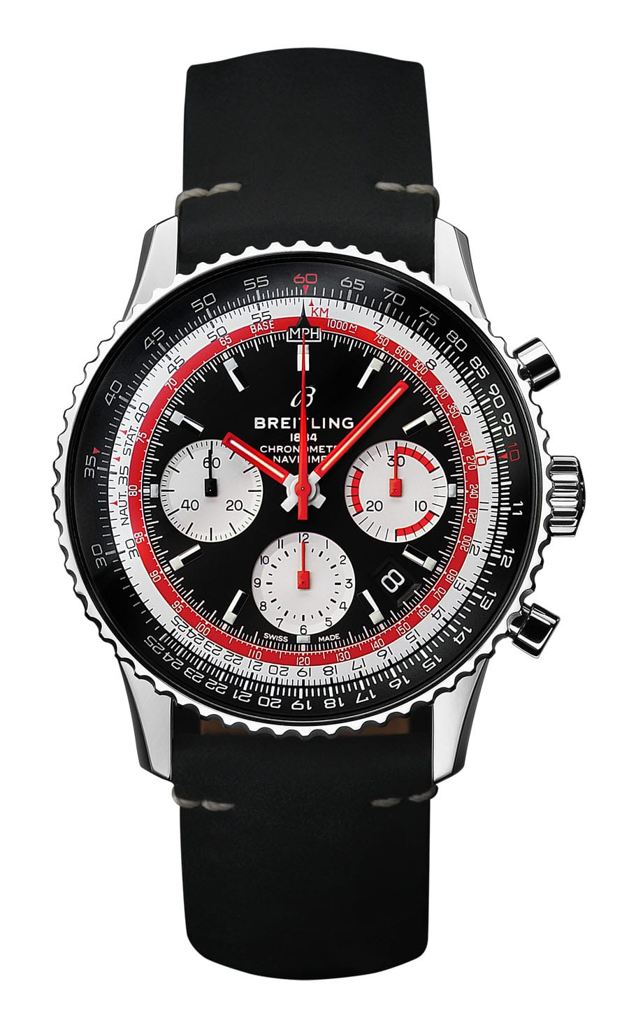 Breitling: Navitimer 1 B01 Chronograph 43 Swissair mit dem Manufakturkaliber B01