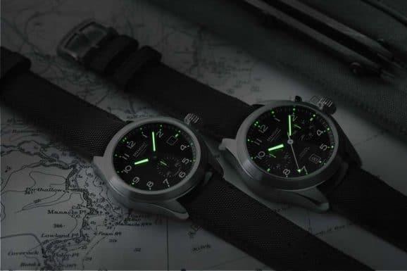 Wichtig im Einsatz: Die Uhren der Armed Forces Collection sind auch im Dunkeln gut ablesbar.