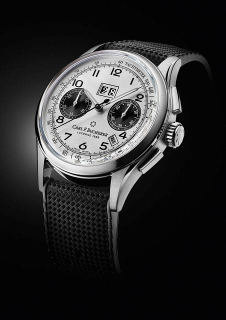 Carl F. Bucherer: Heritage Chrono BiCompax Annual in Edelstahl