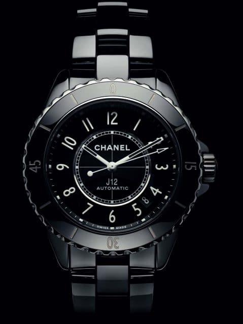 Die neue Chanel J12 mit eigenem Manufakturkaliber: dem Automatikwerk 12.1 aus der Schweizer Werkemanufaktur Kenissi.