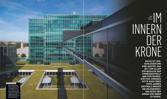 Großer Manufakturreport: Chronos hat alle vier Fertigungsstätten von Rolex besucht