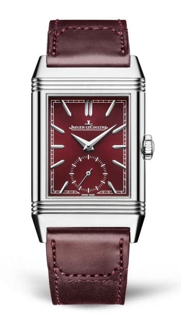 Jaeger-LeCoultre: Reverso Tribute Small Seconds