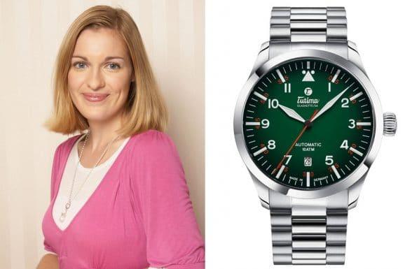 Katharina Studer: Baselfavorit Tutima Flieger