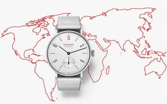 Nomos Glashütte: Tangente Neomatik für Ärzte ohne Grenzen