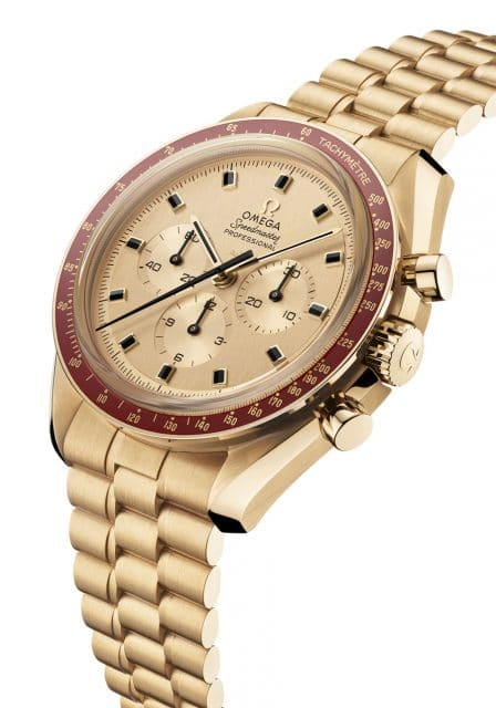 Omega: Speedmaster Apollo 11 50th Anniversary Limited Edition in Gold