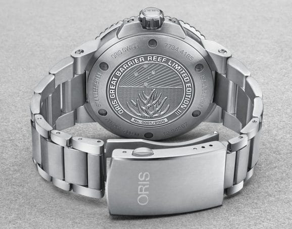 Oris: Boden der Great Barrier Reef Limited Edition III