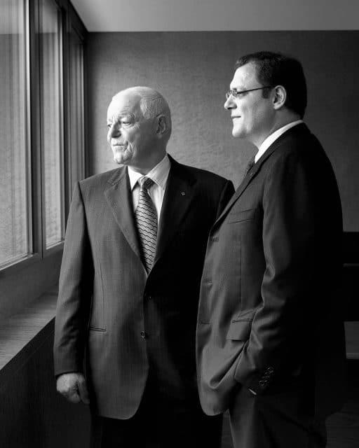 Patek Philippe: Philippe (links) und Thierry Stern (rechts)