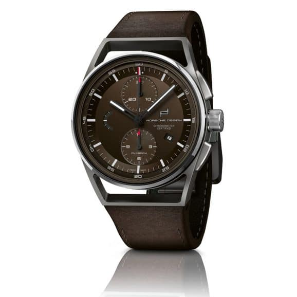 Red Dot 2019: Porsche Design 1919 Chronotimer Flyback Brown & Leather