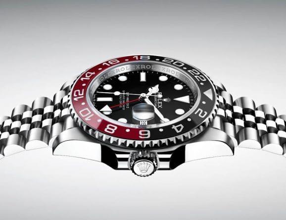 Mögliche Rolex-Neuheit #1: GMT-Master II mit schwarz-roter Lünette in Stahl mit Jubilé-Band