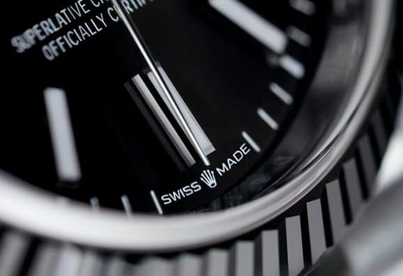Rolex: Oyster Perpetual Datejust 36 mit signifikanter Lünette