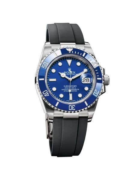 Mögliche Rolex-Neuheit #2: blaue Submariner in Stahl mit Oysterflex-Band und Kaliber 3235