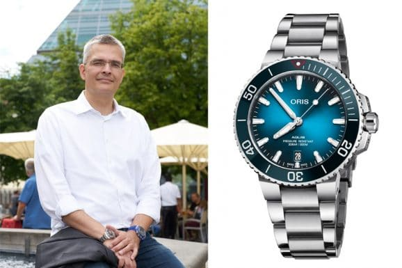 Rüdiger Bucher: Baselfavorit Oris Clean Ocean Limited Edition