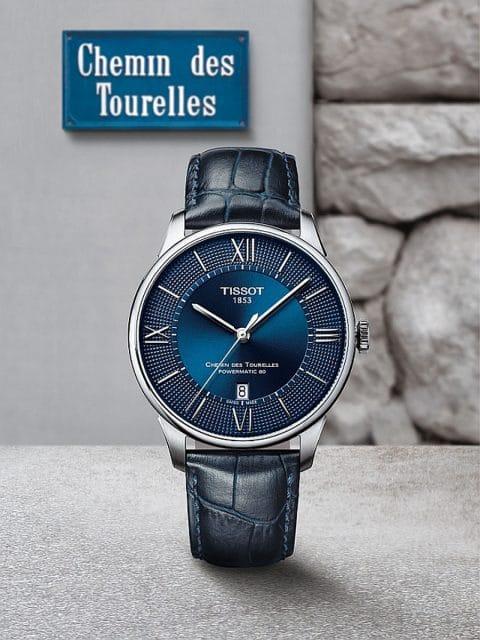 Tissot: Chemin des Tourelles - eine Straße gibt der Uhrenkollektion ihren Namen