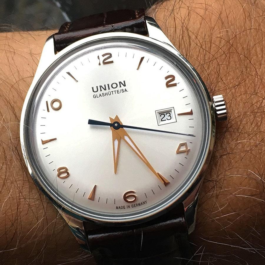 Union Glashütte: Noramis Datum, eine Augenweide am Handgelenk