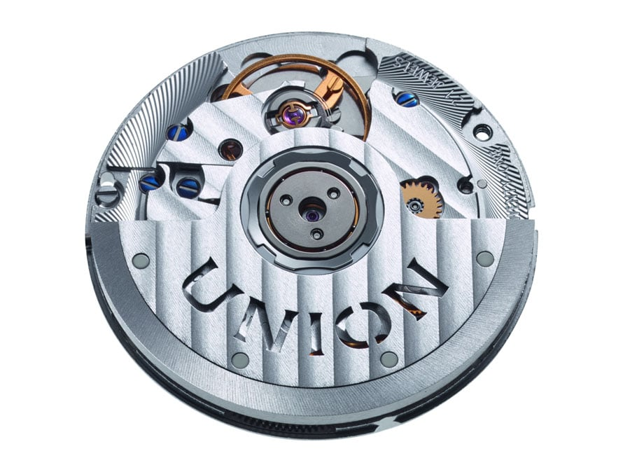 Union Glashütte: Noramis Datum, Automatikkaliber UNG-07.01 auf Basis des ETA 2892-A2